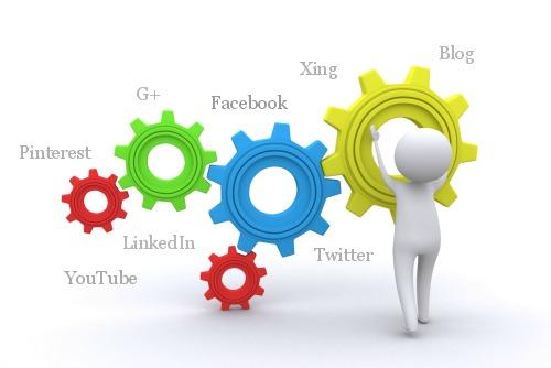 Starten auf Social Media